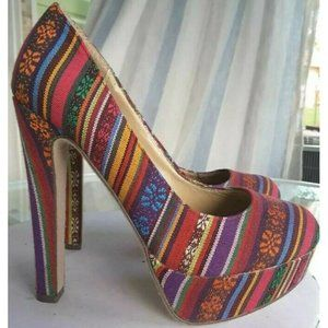 Breckelles Womens Classic Pump Platform Heels